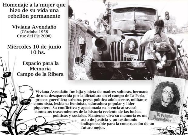 Homenaje Negra Viviana
