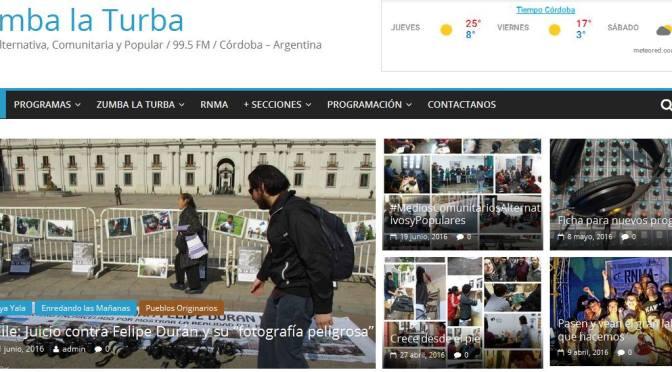 ¡¡ Listo… Nueva página web de Zumba la Turba !!!