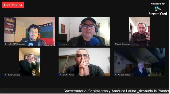 [CONVERSATORIO] CAPITALISMO y AMÉRICA LATINA ¿Desnuda la pandemia, la Crisis en nuestro continente?;
